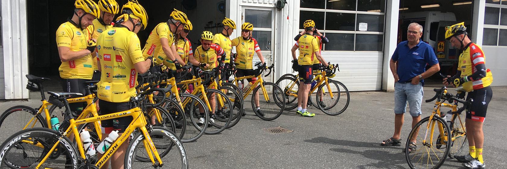 Om Ørslev Cykelrejser