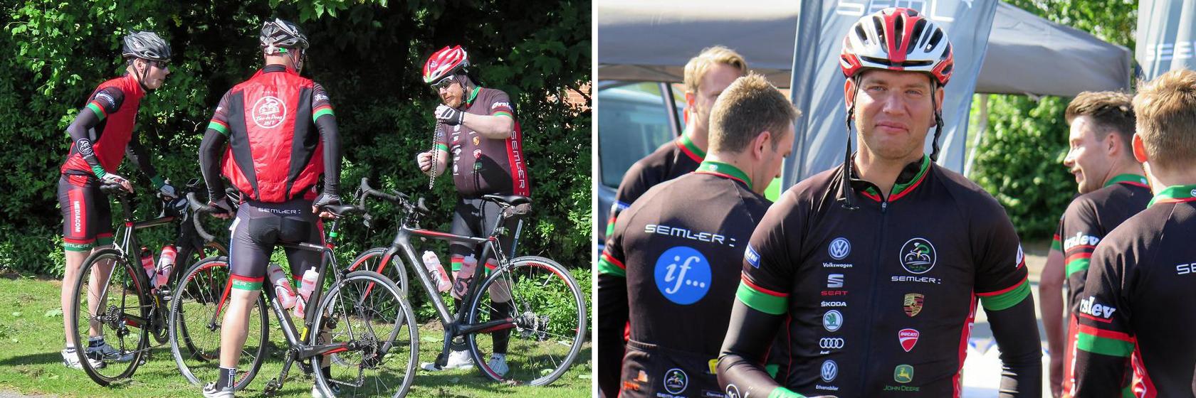 Vi tilbyder totalløsninger på cykelrejser
