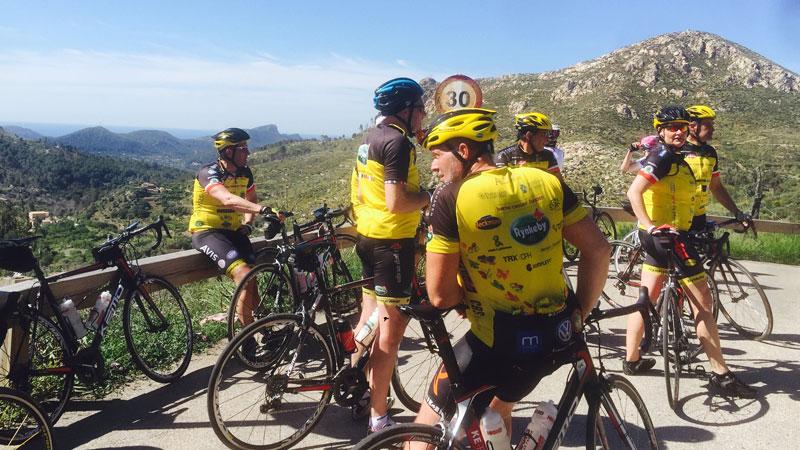 Cykelevent til Mallorca
